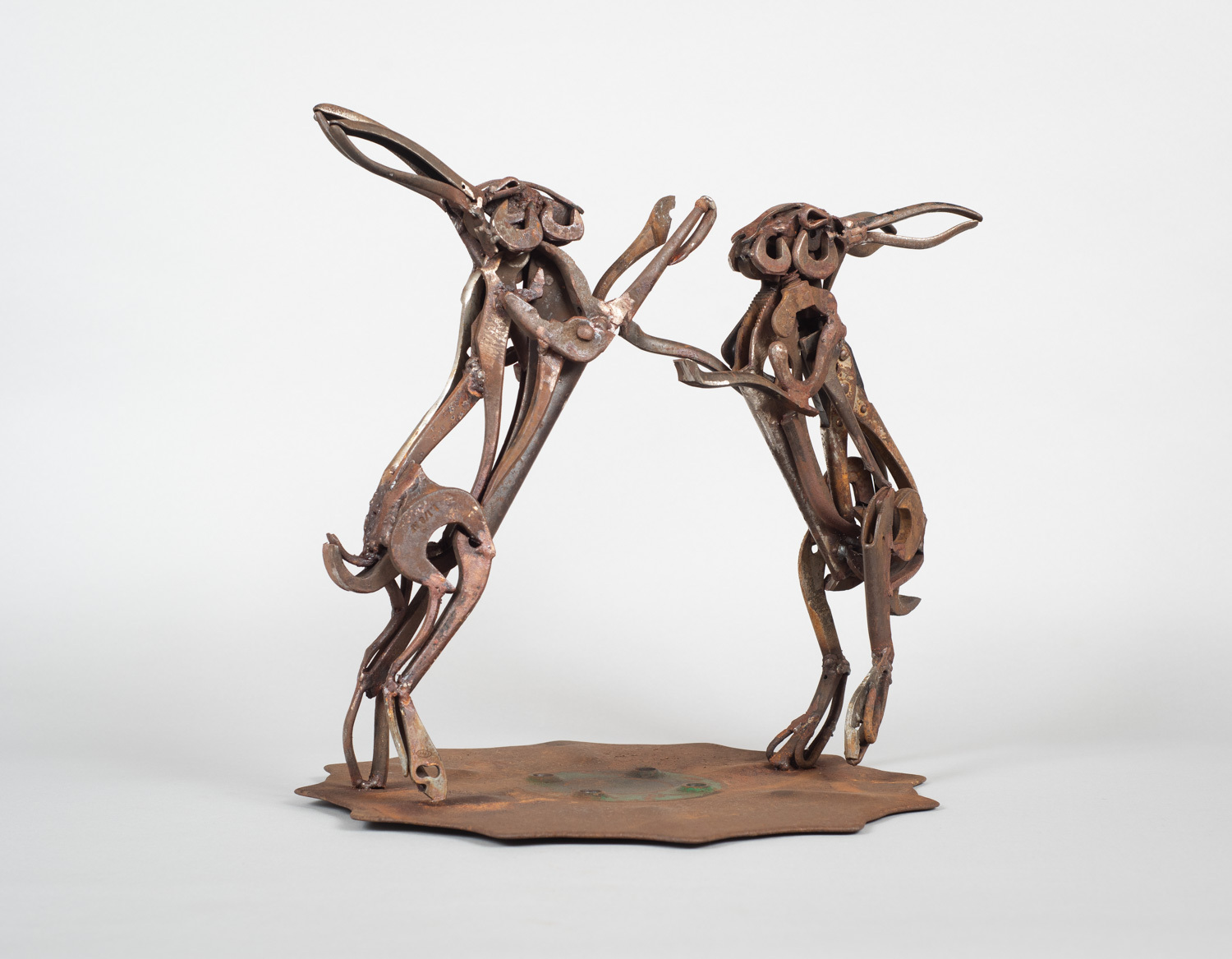 <p>Lockdown Hares by Harriet Mead</p>