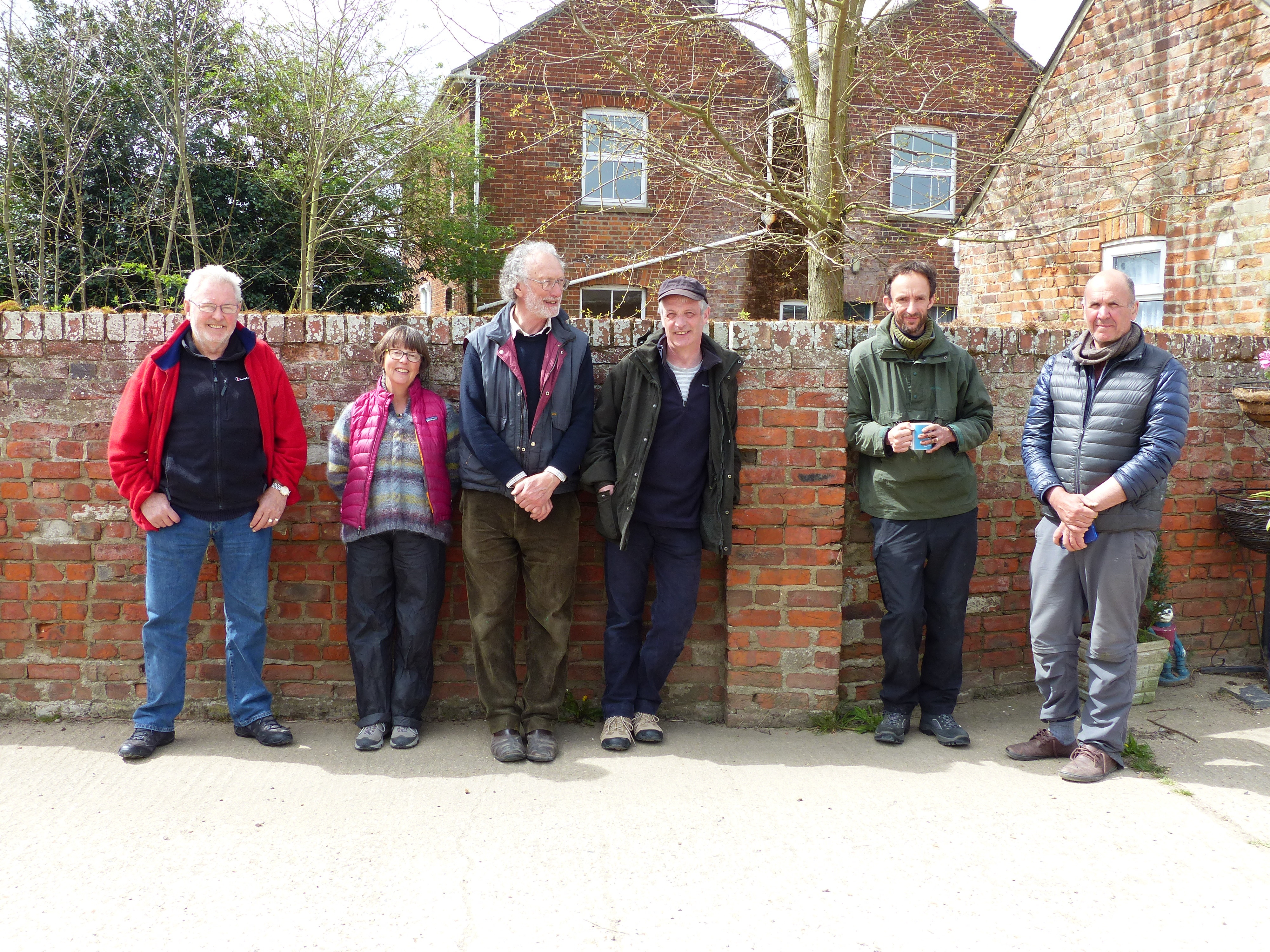 <p>SWLA Artists on the 1st residency: Peter Partington, Julia Manning, Mike Warrren, Brin Edwards, Nik Pollard and Greg Poole</p>