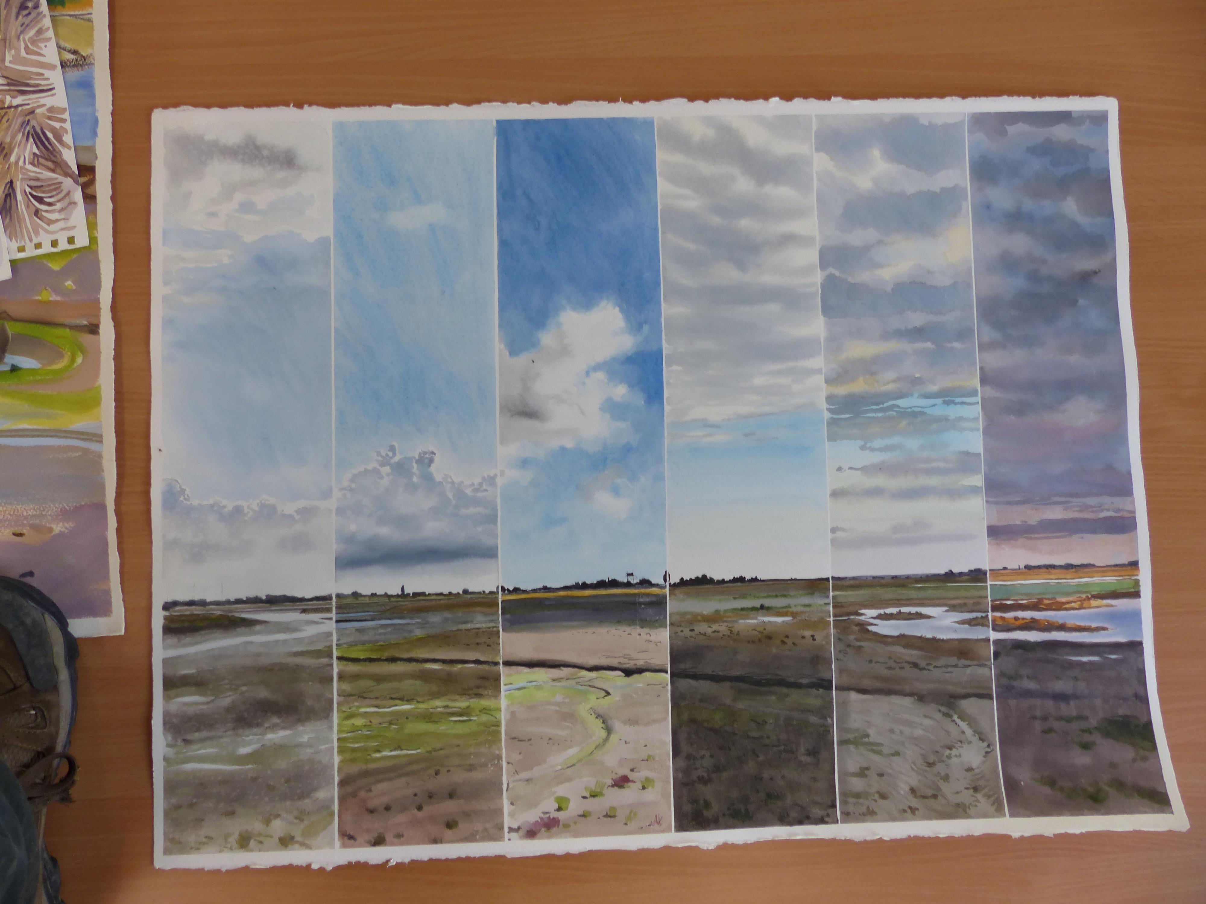 <p>Timed landscape by Ben Woodhams</p>