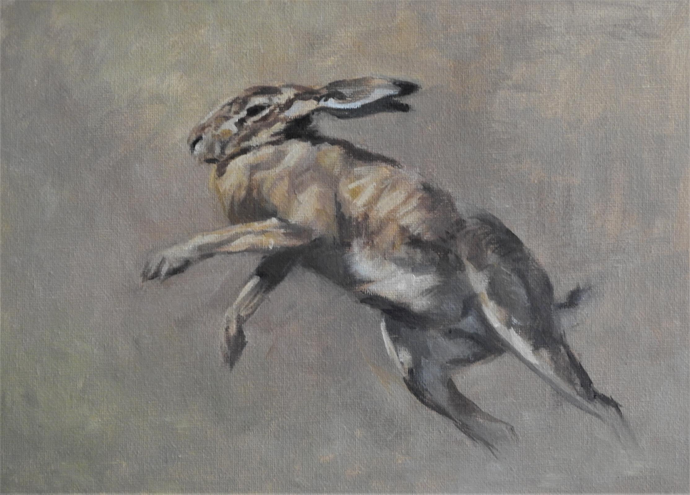 <p>Lepus Pugilistus II by Tim Wootton</p>