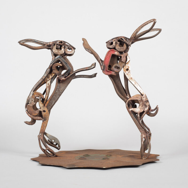 Lockdown Hares by Harriet Mead
