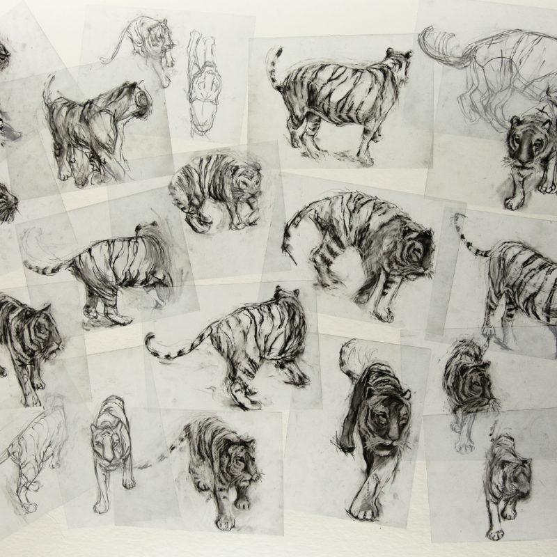 Louise Pallister bursary sketches
