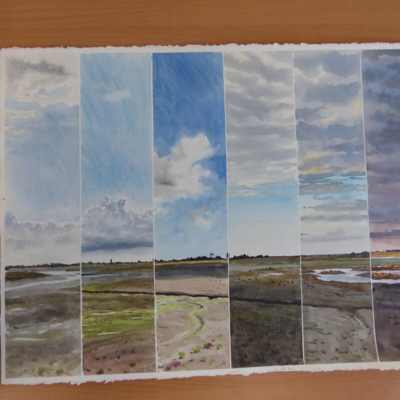 Timed landscape by Ben Woodhams