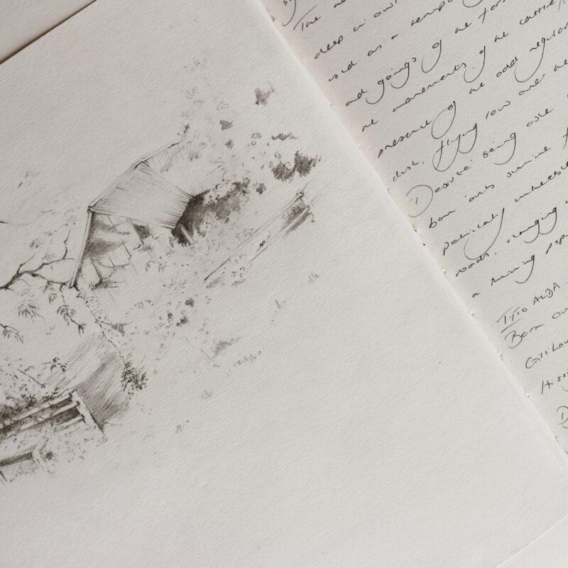 Ibby Lanfear, sketchbook page