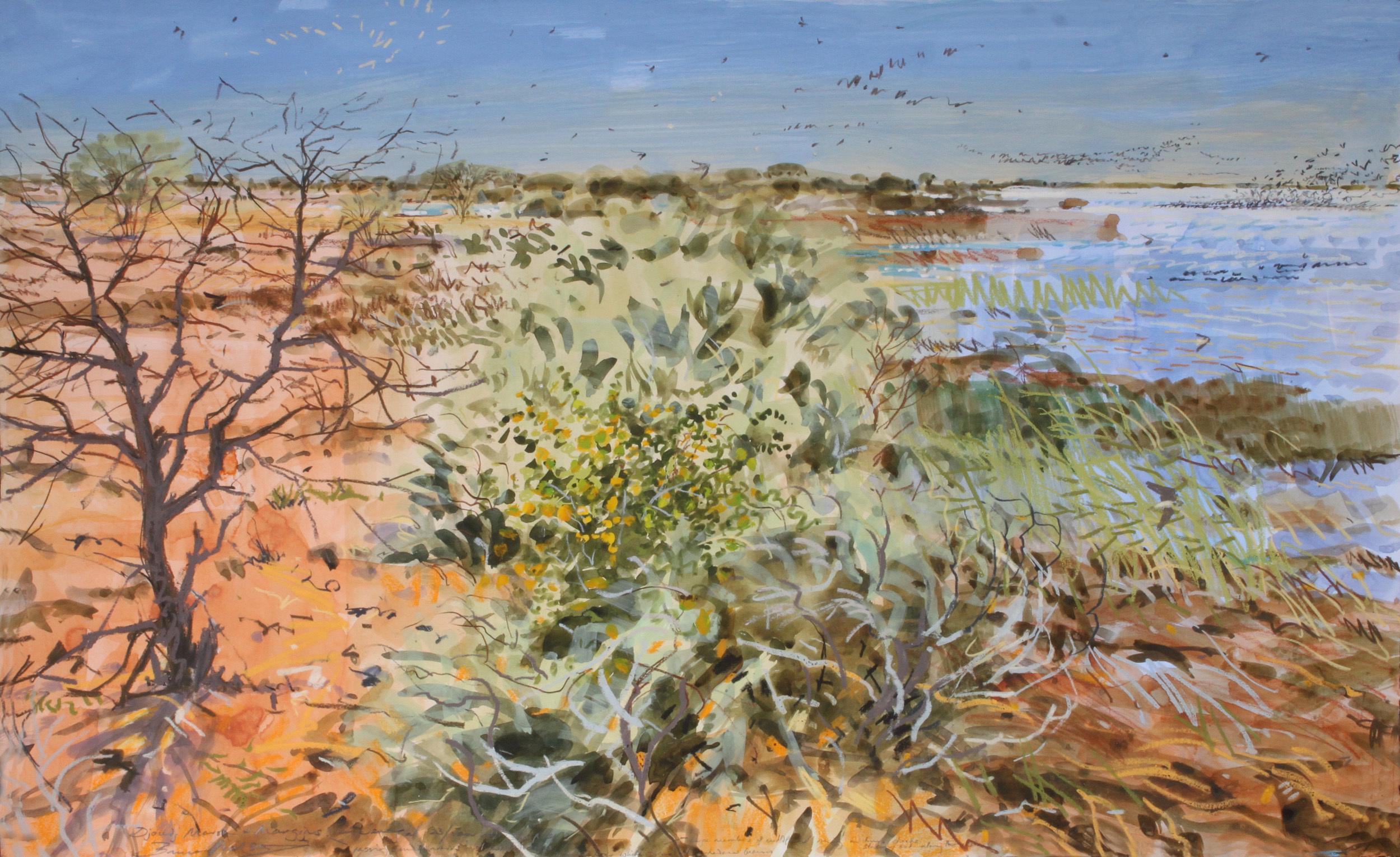 <p>Djoudi landscape, Bruce Pearson</p>