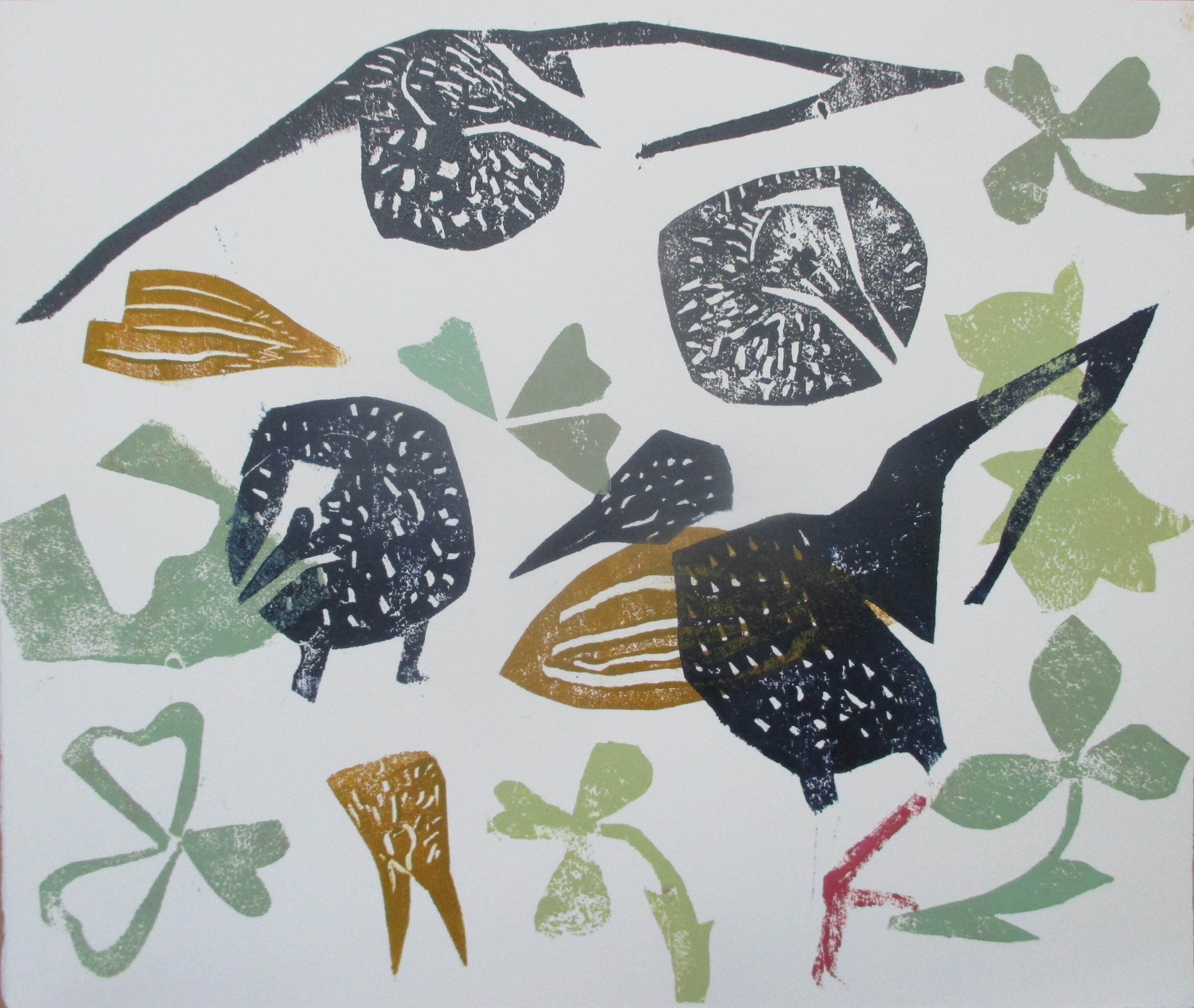 <p>Starlings, February by Kim Atkinson</p>