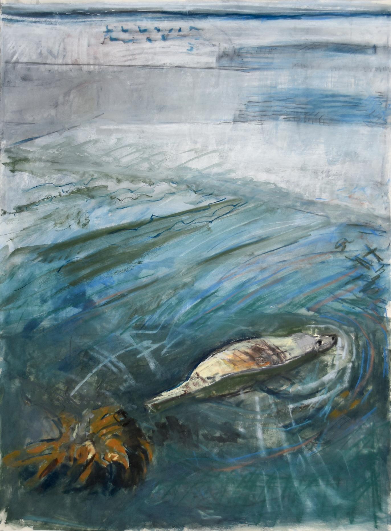 <p>Mooching Seal by Kittie Jones</p>