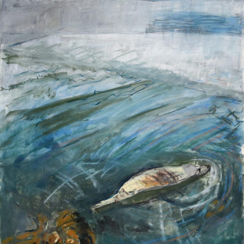 Mooching Seal by Kittie Jones