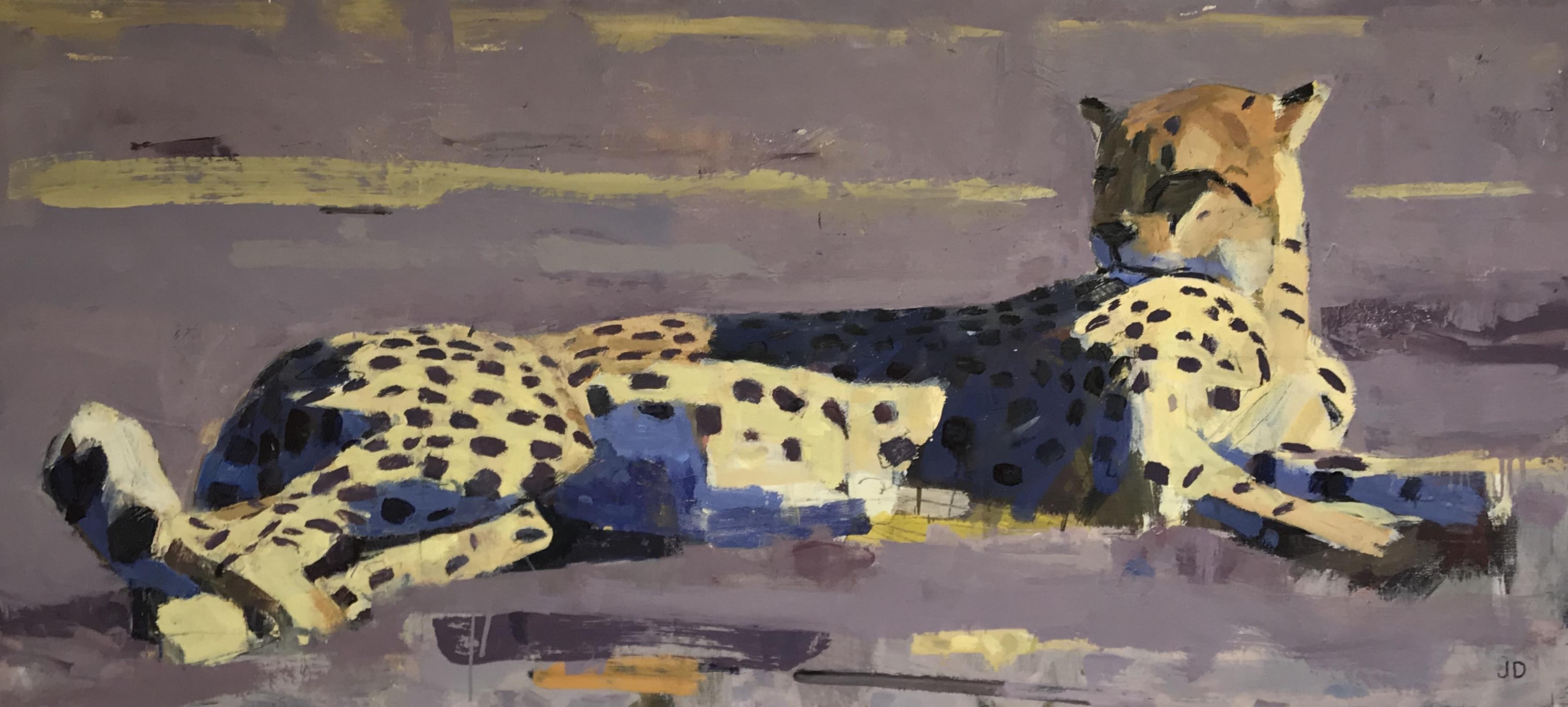 <p>Cheetah by John Dobbs</p>