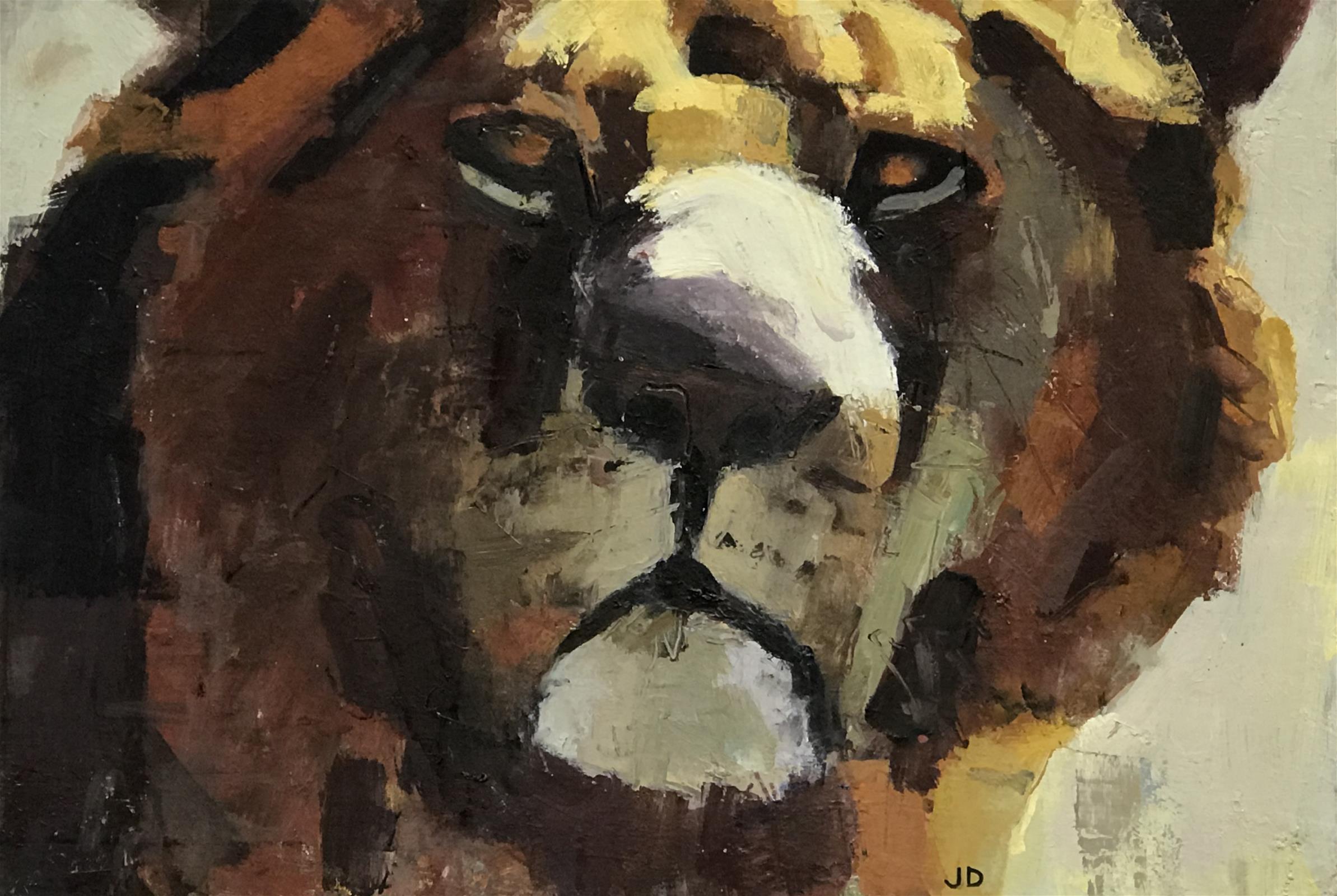 <p>Lion by John Dobbs</p>