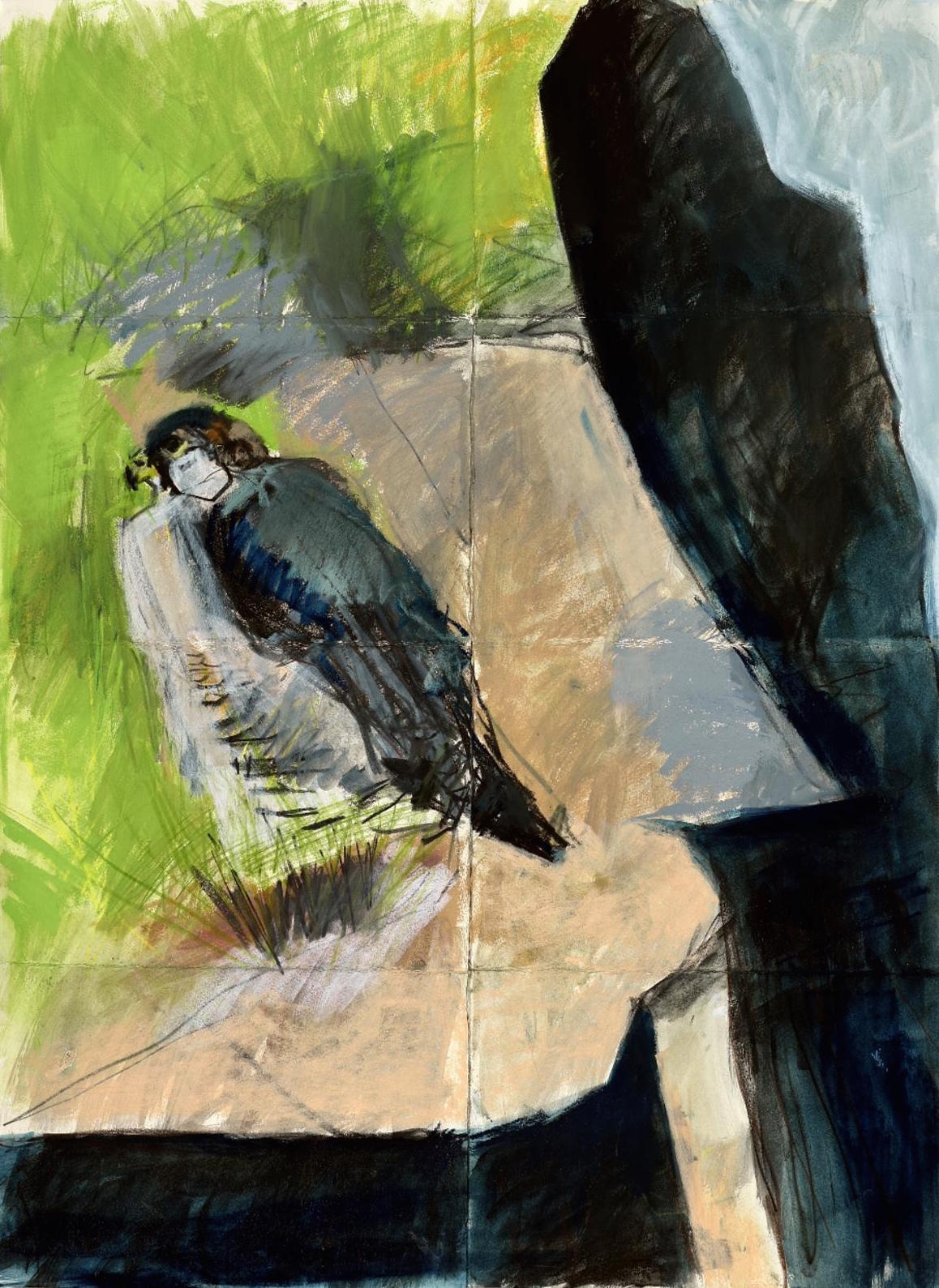 <p>Sitting Peregrine by Kittie Jones</p>