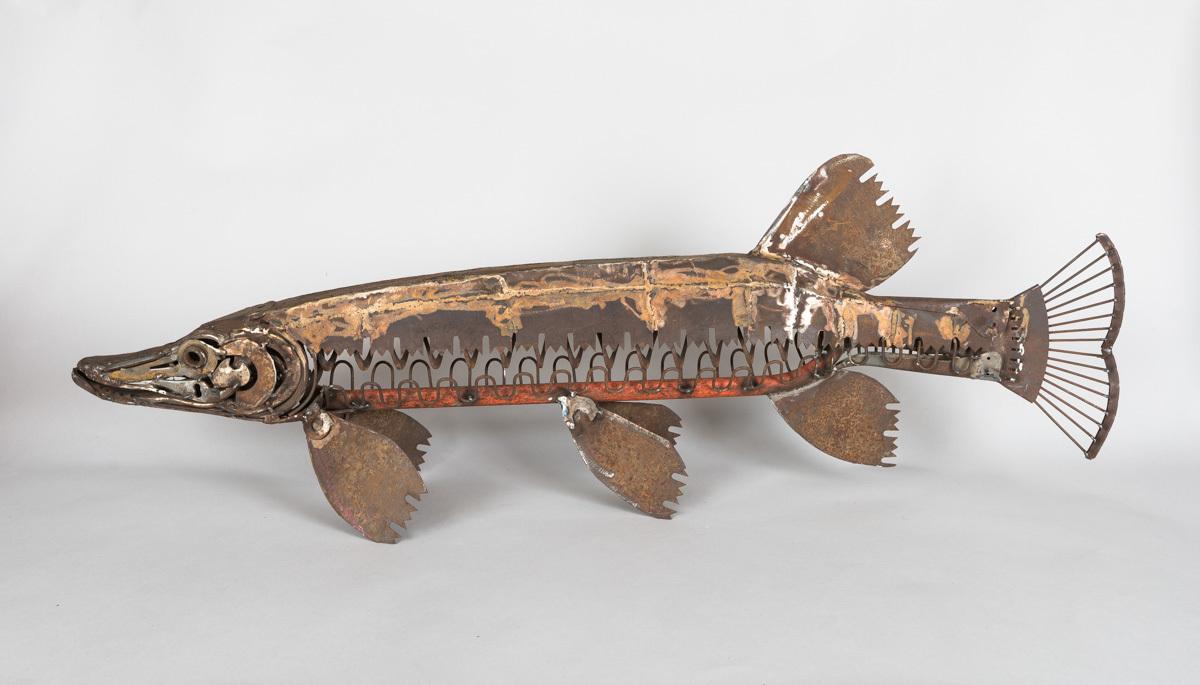 Leaf Rake Pike by Harriet Mead