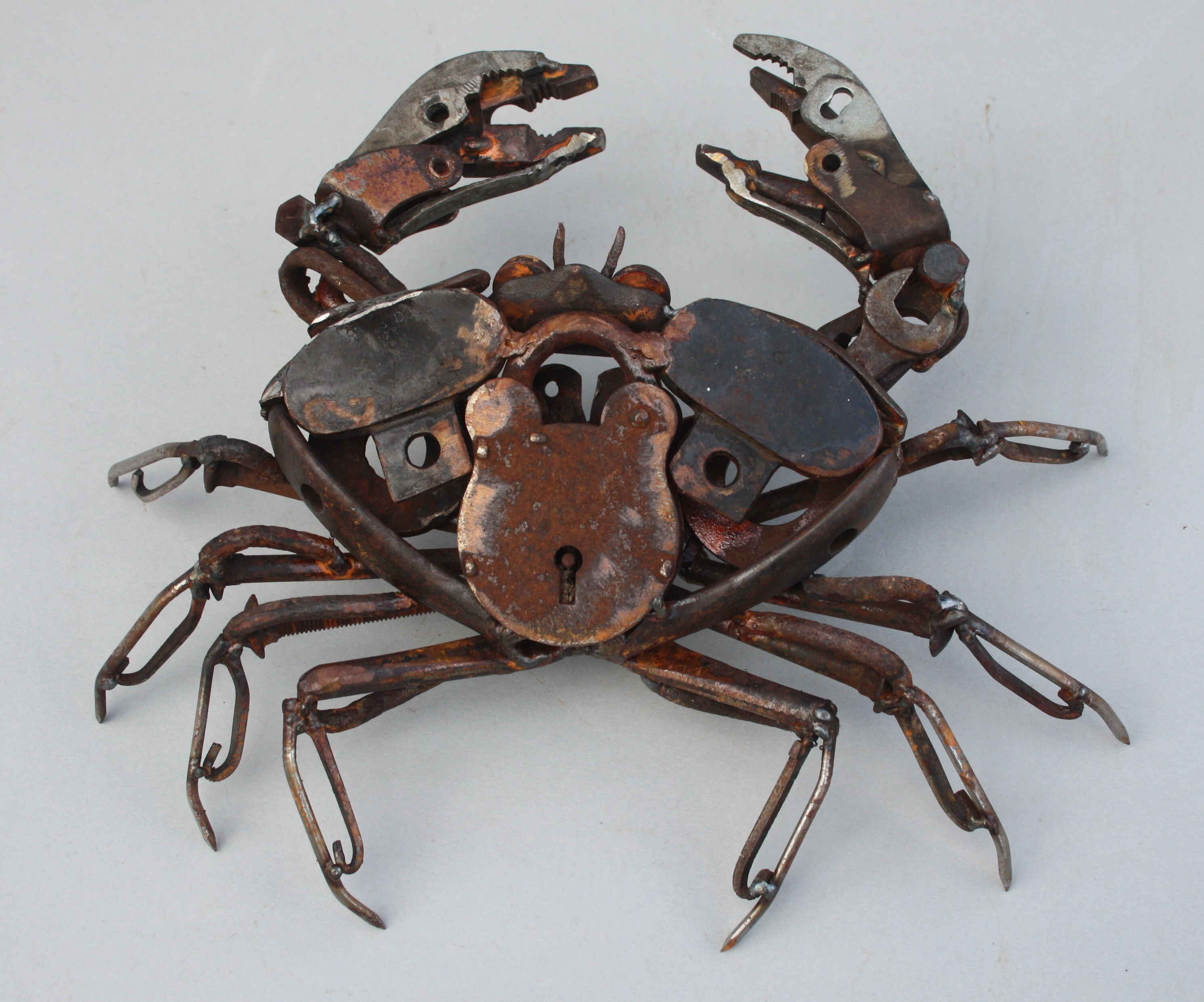 <p>Padlock Crab by Harriet Mead</p>