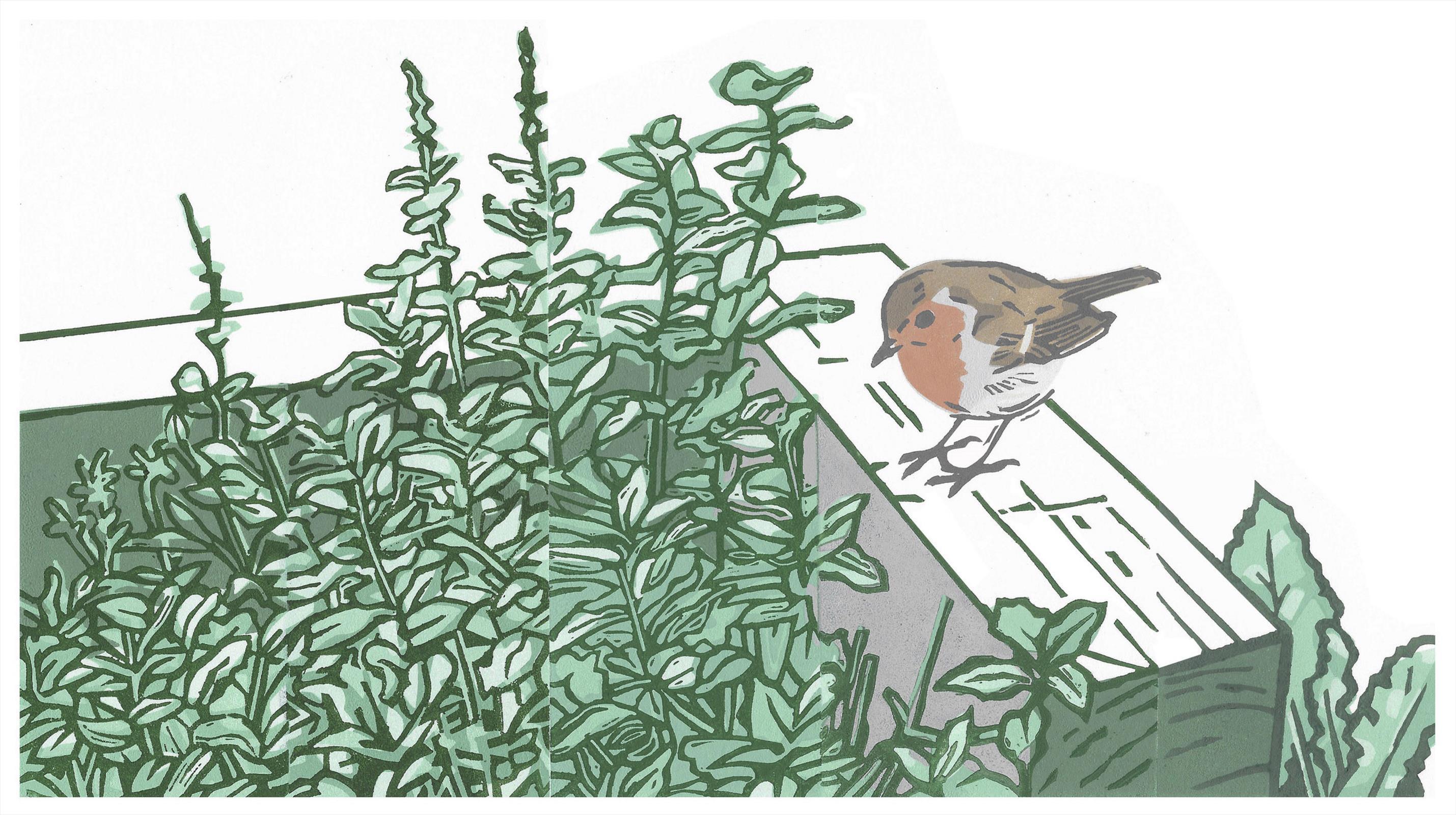 <p>Garden Guardian by Chris Sinden</p>
