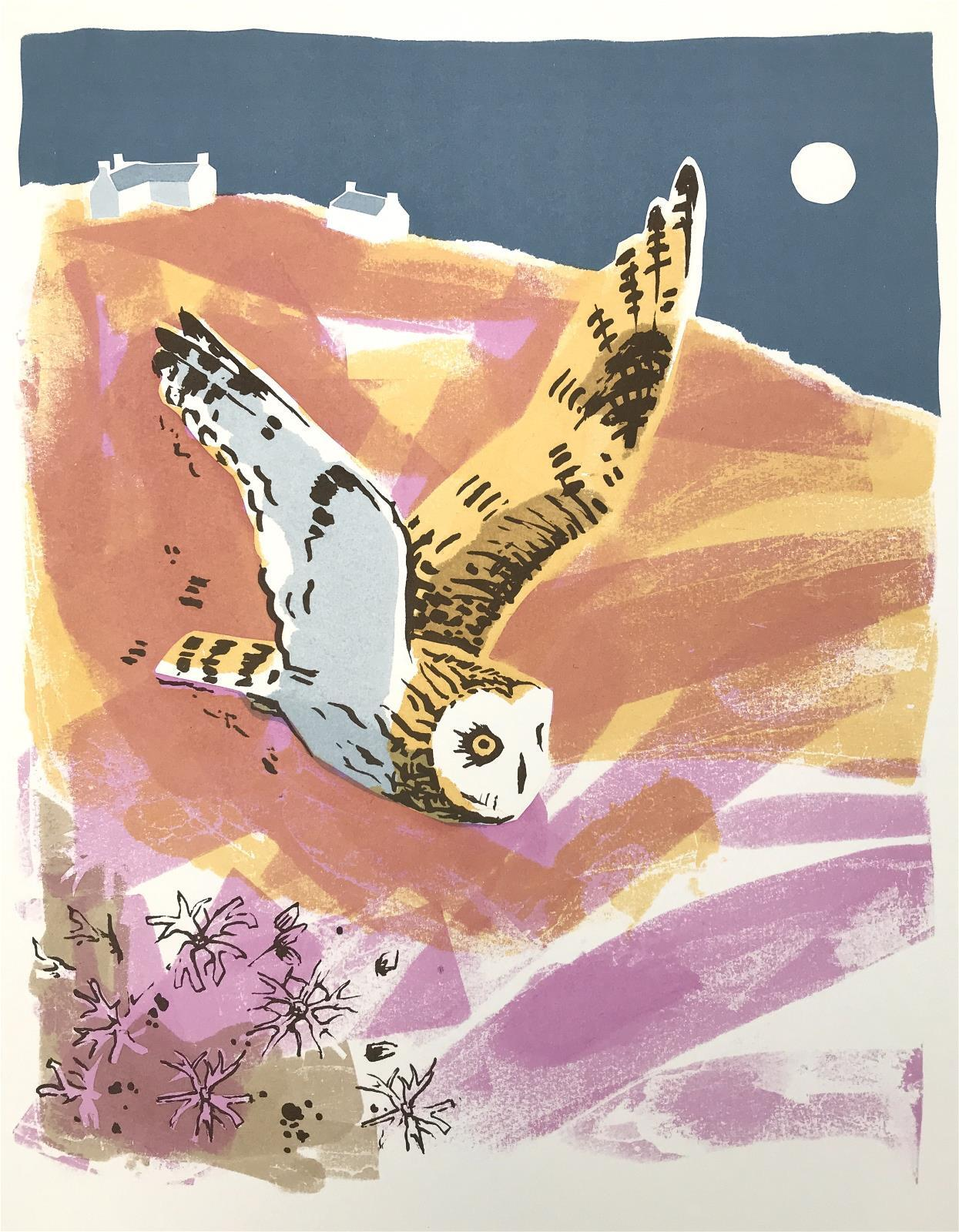 <p>Short Eared Owl by Jane Smith</p>