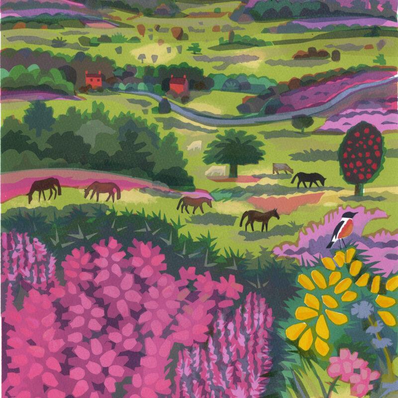 Heathland by Carry Akroyd