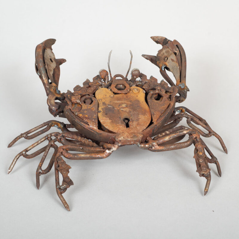 Padlock Shore Crab by Harriet Mead