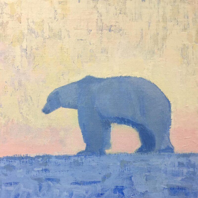 Blue bear by Darren Rees