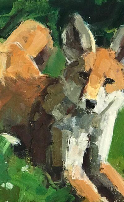 Urban Fox by John Dobbs