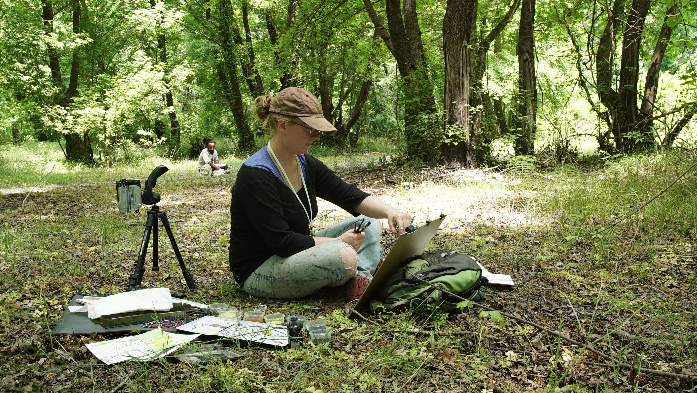 <p>Esther Tyson on the Turkish Sweetgum Project</p>